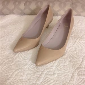 Cole Haan Nike Air Patent Leather Kitten Heels